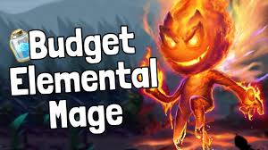 budget elemental mage deck guide hearthstone youtube