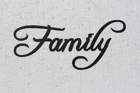 Amazon Family Word Home Decor Metal Wall Art Kitchen