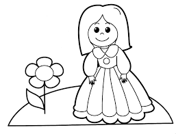 Doll Coloring Pages To Print Tryonshorts Best