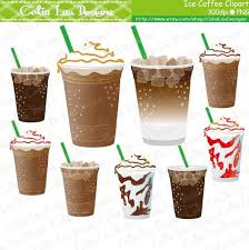 Cup Clipart Iced Coffee 1