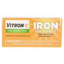 Halloween Candy Tampering 2013 by Vitron C High Potency Iron Plus Vitamin C Coated Tablets Dietary