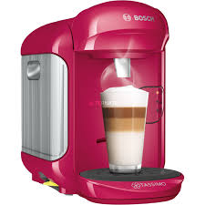 Bosch TASSIMO VIVY 2 Freestanding Fully Auto Combi Coffee Maker 07L Pink Capsule Machine 07 L