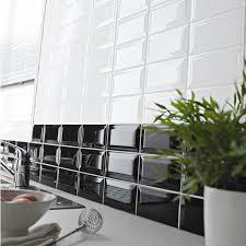 castorama carrelage metro blanc faïence 7 5 x 15 cm métro noir castorama idées salle d o surf