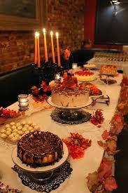Autumn Wedding Cake Table Fall Dessert Pastel