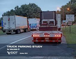 100 Wilco Truck Stops Appendix I Parking Study