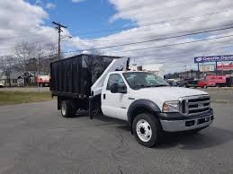 2007 FORD F550 Knuckle Boom Truck With Dump Body And Imt Knuckle ...