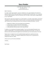 Legal Assistant Resume Cover Letter Samples Clerical