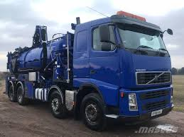 Volvo FH12 8x4 Sleeper Cab Tanker Fitted With Rivard Sup ASHBY DE LA ...