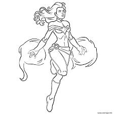 Coloriage Captain Marvel Fire By Carol Danvers JeColoriecom