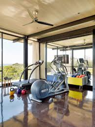 10 Home Gyms That Will Inspire You To Sweat Photos | Architectural ... Home Gym Interior Design Best Ideas Stesyllabus A Home Gym Images About On Pinterest Gyms And Idolza Designs Hang Lcd Dma Homes 12025 70 And Rooms To Empower Your Workouts Beautiful Small Space Gallery Amazing House Nifty Also As Wells A To Decorating Equipment With Tv Fniture Top 15 In Any For Garage Exterior Gymnasium Vs