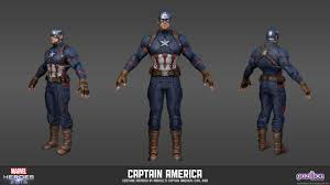 Captain America Civil War Skins And Items Added To Marvel Heroes See Them Here
