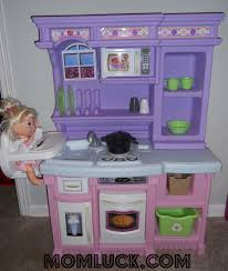 Step2 Kitchens U0026 Play Food by A Little Girls Dream Toy The Step2 Little Baker U0027s Kitchen Mom Luck