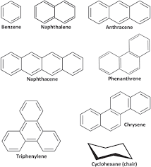 Chair Cyclohexane Point Group by Aromaticity Of Rings In Molecules Rims From Electron