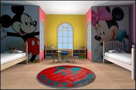 Mickey Minnie Bathroom Decor by 15 Mickey Mouse Inspired Bedrooms For Kids Rilane