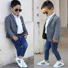 Suit Jacket With Jeans Stylish Kids FashionBoy