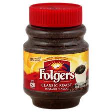 Photo Of Folgers Coffee Instant Classic Roast 8 Oz 226g