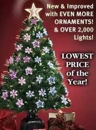 Fiber Optics Rotating Christmas Tree