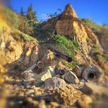 100 Santa Barbara Butterfly Beach Coastal Erosion Causes Havoc For Drainage Pipes