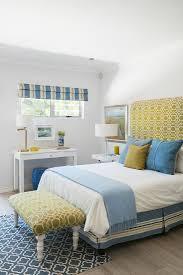 schlafzimmer in blau grün und weiß mit bild kaufen