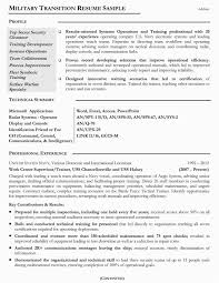 Sample Military Resume Reentering The Workforce Examples Of Resumes