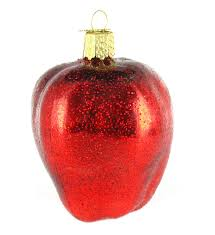 Ebay Christmas Tree Decorations by Amazon Com Old World Christmas Red Delicious Apple Glass Blown