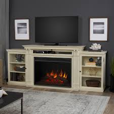 Decor Flame Infrared Electric Stove by Real Flame Tracey Grand 84 In Entertainment Center Electric