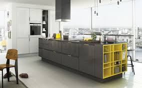 Nice Yellow And Gray Kitchen Decorating Grey Kitchens Ideas