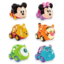 Mickey Mouse And Friends Go Grippers Car Set For Baby By Bright