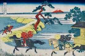hokusaï les trente six vues du mont fuji de jocelyn bouquillard