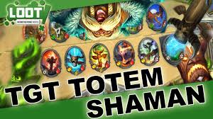 hearthstone tgt totem shaman deck guide ger youtube