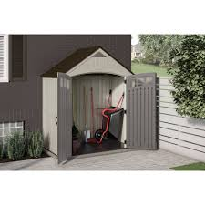 Rubbermaid Tool Shed Accessories by Suncast 7 X 4 Covington Storage Shed Walmart Com