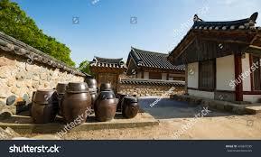 100 South Korean Houses Gyochon Hanokkorean Traditional Village Gyeongju