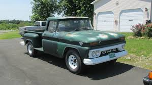 100 Stepside Trucks BF Exclusive 1962 GMC 34 Ton