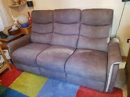 wohnzimmer sofa gebraucht beide seiten sind elektrisch