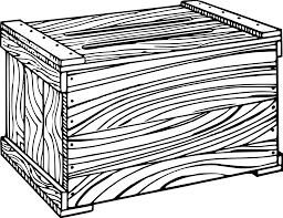 Free Clipart Of A Wooden Crate 00011795