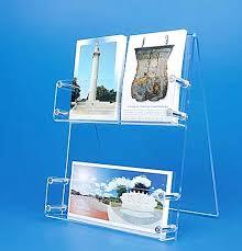 pr駸entoir bureau présentoir plexi cartes postales de bureau présentoir cartes