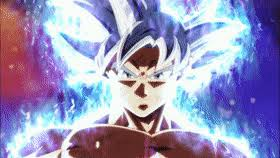 Mastered UI Goku Ultra Instinct GIF