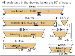 how to build a large octagon picnic table plans diy free download