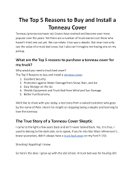 The Top 5 Reasons To Buy And Install A Tonneau Cover Pages 1 - 8 ... Retractable Truck Bed Cover For Utility Trucks Retrax Retraxone Mx Tonneau 0208 Dodge Ram 1500 64 W Keca04a26 Pace Edwards Ultragroove Electric Product Review Bak Rollx Road Reality Solar Tonneau Cover Truck Pinterest Solar Used 02 09 Hard Shell Fiberglass For Short Used Leer Covers Best Resource New Revolver X4 Factory Outlet Speedy Glass Weathertech Roll Up Installation Video Youtube Custom Alinum As Snowmobile Deck Flickr
