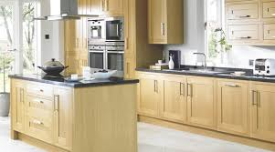 clevedon shaker style solid oak kitchen rustic kitchen hshire