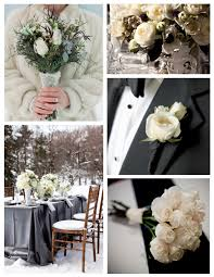 Winter White Wedded In Floral Bliss Of