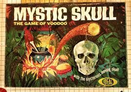 Vintage Mystic Skull Board Game