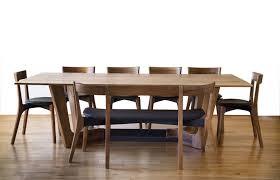Edinburgh Elm Divining Kitchen Dining Table Mack Bench Chairs