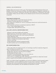 Medical Esthetician Resume Examples For