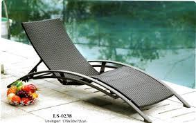 Wicker Pool Deck Lounger LS 0238
