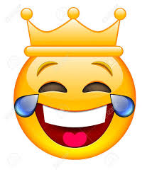 Laughing Face With Crown Emoji Smile Emoticon