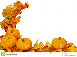 Fall Thanksgiving Halloween decoration isolated