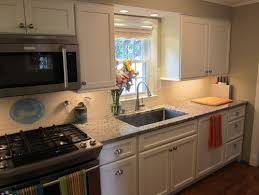 our updated galley kitchen
