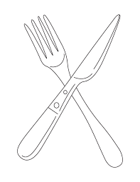 Pix For Fork And Knife Drawing