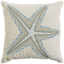Pier 1 Outdoor Cushions Canada by Coastal Beaded Starfish Pillow Pier 1 Imports
